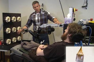Un implant cérébral restaure la sensation tactile chez un tétraplégique | SI, innovation & collaboration | Scoop.it