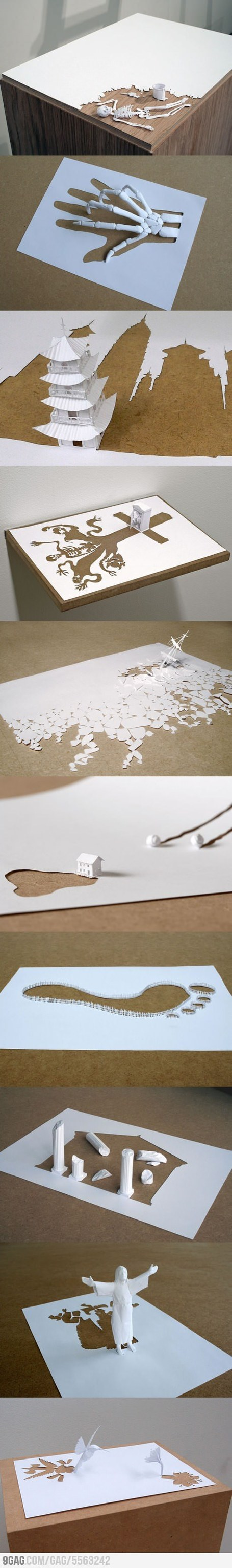 Paper Art by Peter Callesen | Made with (and of) Paper | Scoop.it