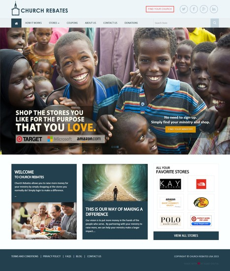 Church Rebates a New USA Project by iLead Digital | Affiliate Website CMS Design and Development | Scoop.it