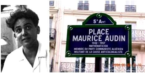 [LDH-Toulon] la mort de Maurice Audin : un crime d'État ... | Criminologie | Scoop.it