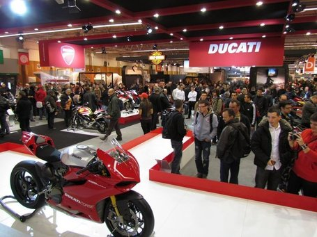 Salon de la Moto 2011. Photos of the Ducati stand courtesy of Ducati France | Ductalk | Scoop.it