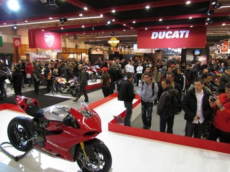 Salon de la Moto 2011. Photos of the Ducati stand courtesy of Ducati France | Ductalk Ducati News | Scoop.it
