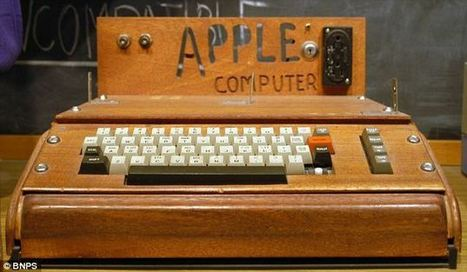 Le aste più incredibili e costose del mondo Vintage PC: un Apple ... - Assodigitale | Sapore Vintage | Scoop.it