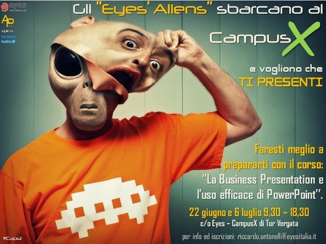 Gli Eyes' Aliens sbarcano a Roma | Alien Presentations | Scoop.it