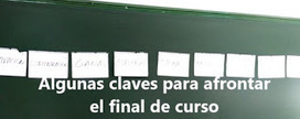 """Claves para final de curso"", por Jesús Zapatero 