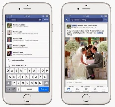 Facebook Search finalement lancé avec des nouveautés | web & marketing & reseaux sociaux | Scoop.it