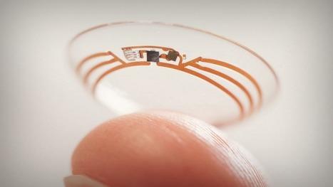 Une lentille de contact intelligente pour surveiller le diabète par Google | Innovation & Technology | Scoop.it
