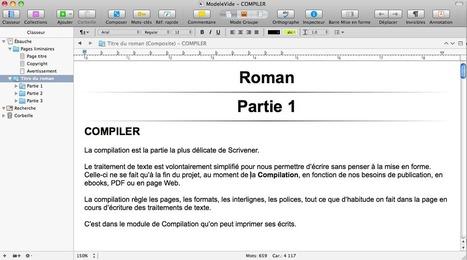 Scrivener Compilation #1 organisation de votre manuscrit | Scrivener, lecture et écriture numérique | Scoop.it