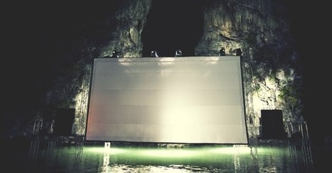 This floating movie theater might be the coolest place on Earth   Mad Cornish Projectionist News   Scoop.it