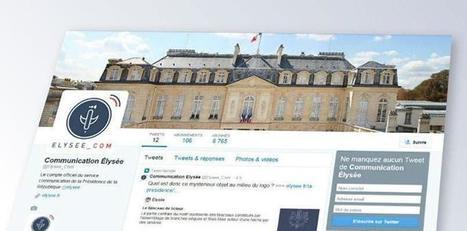 @Elysee_Com, un compte Twitter officiel au service d'une communication décalée | Communication territoriale, de crise ou 2.0 | Scoop.it