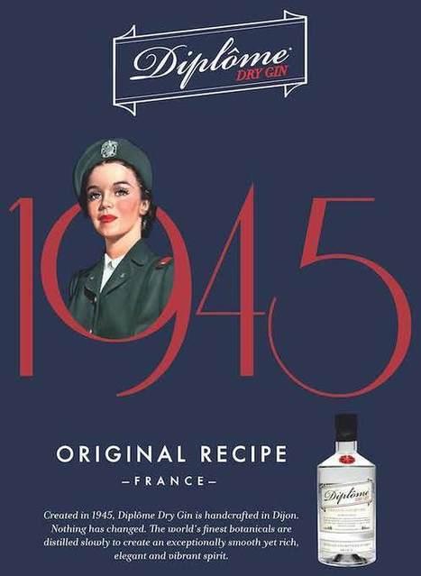 Diplôme Dry Gin Now With Heavenly Spirits | Diplome Uk | Scoop.it