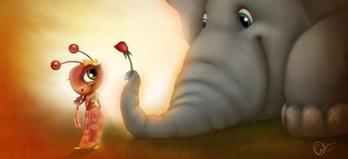 La fable imaginaire de l'éléphant et la fourmi | Best-of : Mumbaikar in French | Scoop.it