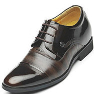 Black / Brown Men Height Inceasing Dress Shoes add tall 7cm / 2.75inch | Elevator shoes for men | Scoop.it