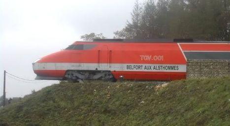 Alstom, la Ville de Belfort et MÄDER s'associent pour rénover la motrice TGV 001   BelgianRailway   Scoop.it