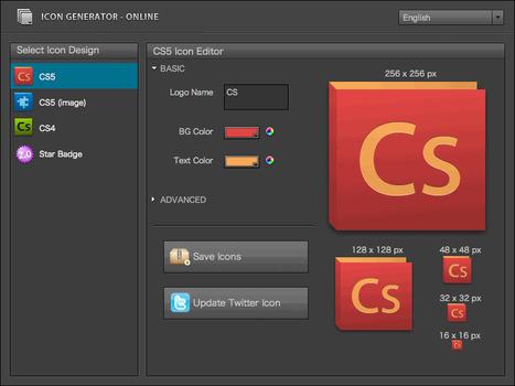 Icon Generator - Generate CS5 or Web 2.0 style icon | Trucs et astuces du net | Scoop.it