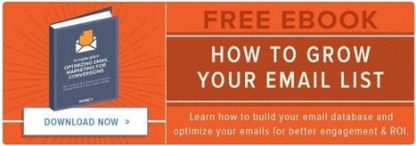 25 Simple Ways to Grow Your Email List   Marketing2015   Scoop.it