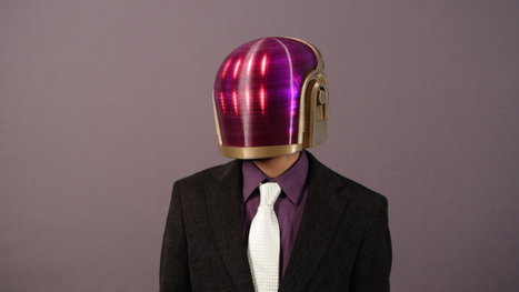 How to 3D-print your own Daft Punk helmet | 3D printing | Scoop.it