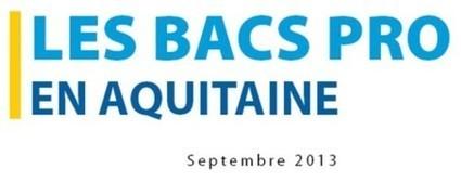 Onisep | Les Bacs pro préparés en Aquitaine - Collège Capeyron | PDMF | Scoop.it