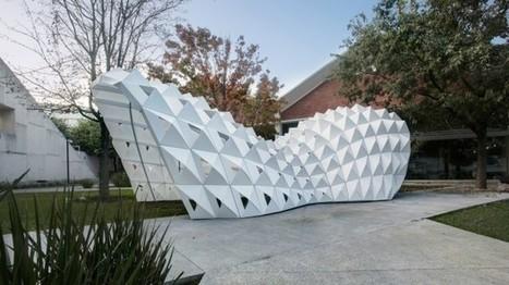 Parametric Pavilion In Monterrey, Mexico - DesignDaily | DesignDaily | Architecture, design & algorithms | Scoop.it