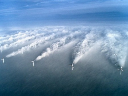 Offshore Wind Farms Generate Their Own Microclimates « NextNature.net | Mircro climates | Scoop.it