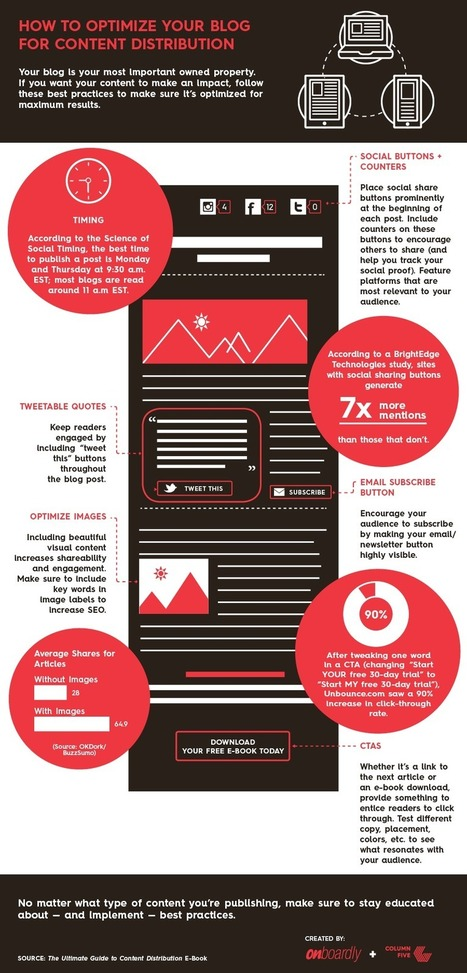 Here's How You Should be Optimizing Your Blog for ROI (Infographic) | MarketingHits | Scoop.it