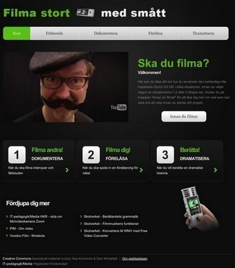 Uggleblogg: - Ny lärresurs – Filma stort med smått | IKT och iPad i undervisningen | Scoop.it