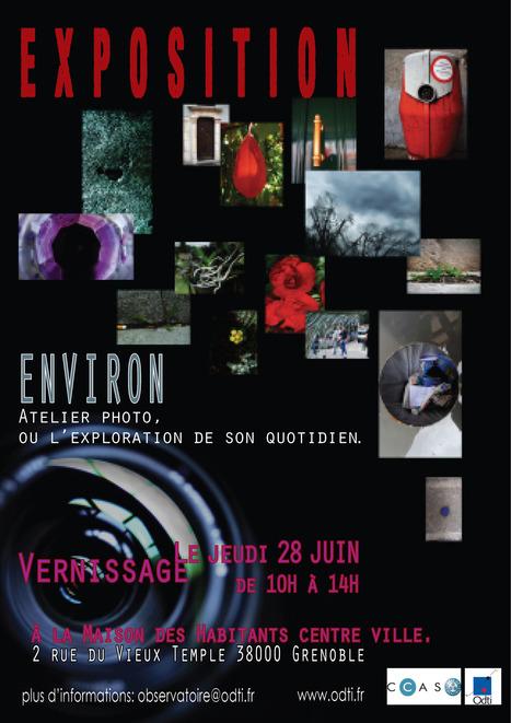 Environ, Atelier photo ou l'exploration de son quotidien | Actualité Culturelle | Scoop.it