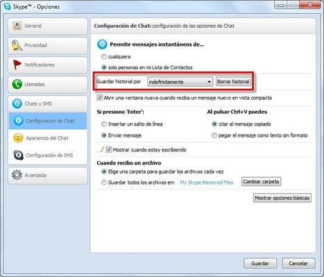 Como localizar y guardar mi Historial de Skype | Aimaro 3.0 | Scoop.it