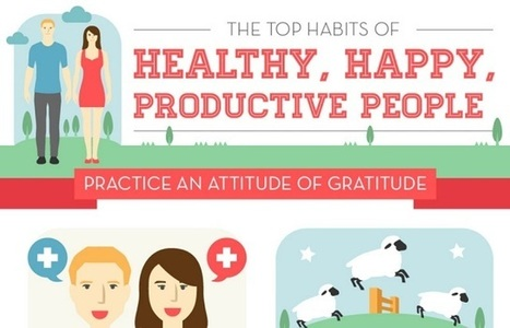 The Top Habits of Healthy, Happy, Productive People | Psychology, Sociology & Neuroscience | Scoop.it