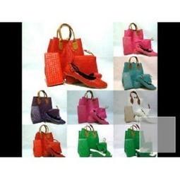 paket tas webe + pouch + dompet + flat anyam - AyeshaShop.Com | trend fashion 2013 | Scoop.it