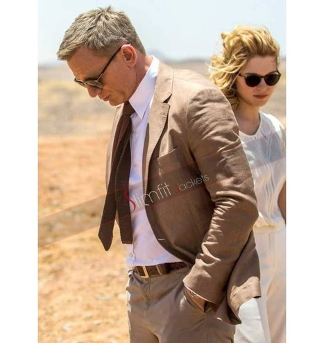 Spectre James Bond Brown Suit | Replica Movies Leather Jackets | Scoop.it
