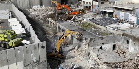 Israël continue de détruire des maisons palestiniennes | CAP21 | Scoop.it