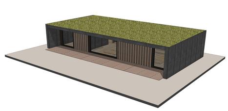 I Loge You, une maison bois démontable, sociale et végétalisée | Habitat extérieur | Scoop.it