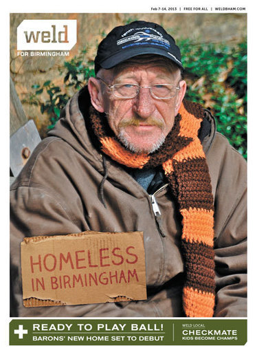 Homeless in Birmingham - Weld (February 2013) | Samford JMC Published Work | Scoop.it