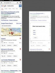 How Google's Local Search Results Will Look in Europe | Local Search Marketing Blog by NGS | Google Places, Geomarketing y LBS | Scoop.it