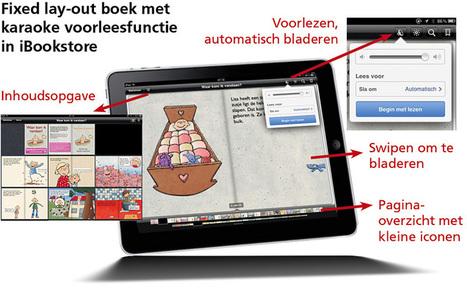 Een nieuwe manier van (voor-)lezen! Prentenboeken en eerste leesboekjes in de iBookstore. | Rian Visser | Bachelorproef Ipad Ticha | Scoop.it
