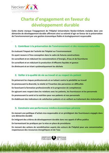 L Hopital Necker s engage pour le lien entre enfants et Developpement durable | Restauration Collective - Secteur Santé | Scoop.it