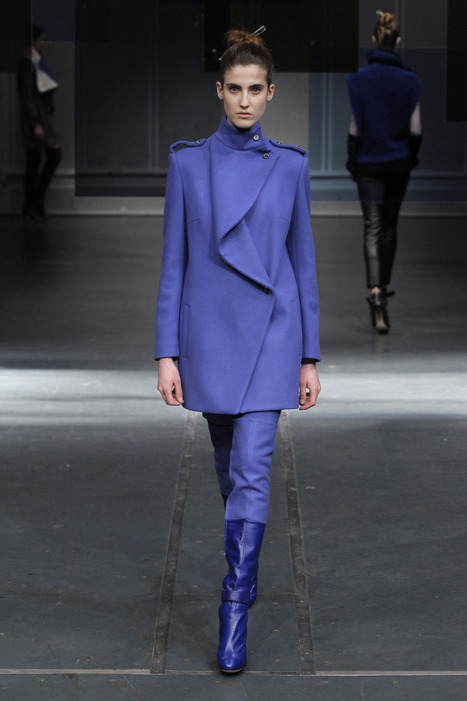 Blue Mood - Luis Buchinho FW14.15 at Paris Fashion Week | CHICS & FASHION | Scoop.it