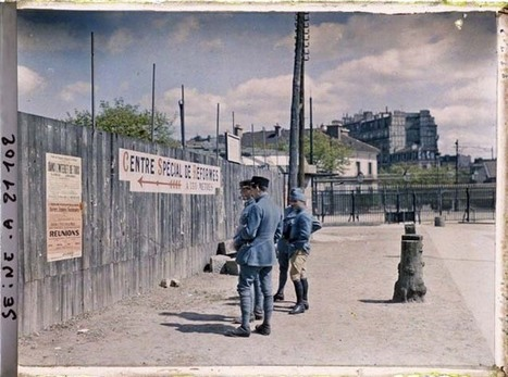 Photos de Paris en couleur en 1900 - La boite verte | Genéalogie | Scoop.it