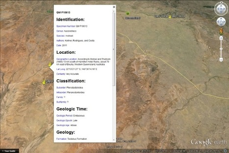 Finding Dinosaurs in Google Earth | Conformable Contacts | Scoop.it
