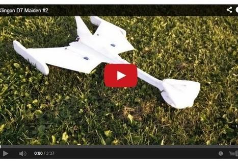 R/C Klingon Battlecruiser and Enterprise A [Videos] | Heron | Scoop.it