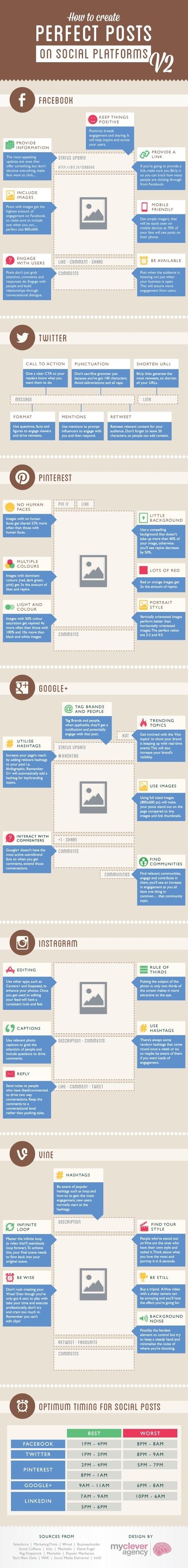 Comment créer des posts engageants sur les réseaux sociaux ? | Social Media | Scoop.it