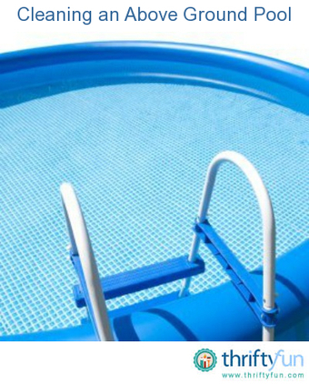 Cleaning an Above Ground Pool | How to Prepare and Install an Above Ground Swimming Pool | Scoop.it