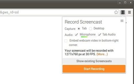 Screencastify (Screen Video Recorder) | On education | Scoop.it