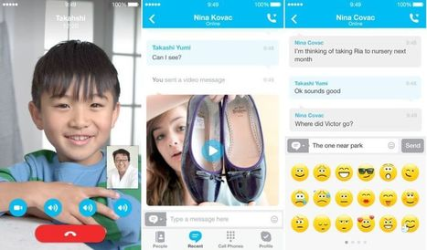 Skype For iOS Gets New 'Refreshed Look And Feel' For iOS 7 | Macwidgets..some mac news clips | Scoop.it