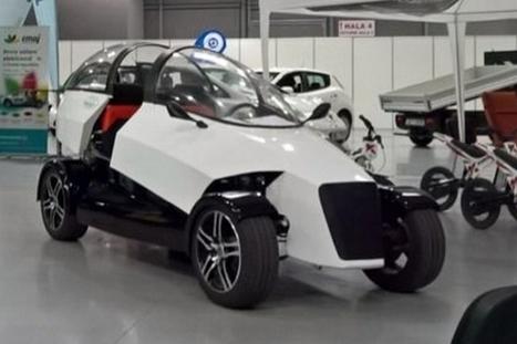 4ekolka : une voiture électrique et imprimée en 3D | EFFICYCLE | Scoop.it