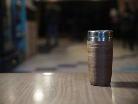 c2cup - A Coffee Cup Made From Coffee | Digital Design and Manufacturing | Scoop.it