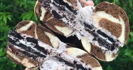 Oreo Bagels With Oreo Cream Cheese Are a Real Thing Happening in the World | ♨ Family & Food ♨ | Scoop.it