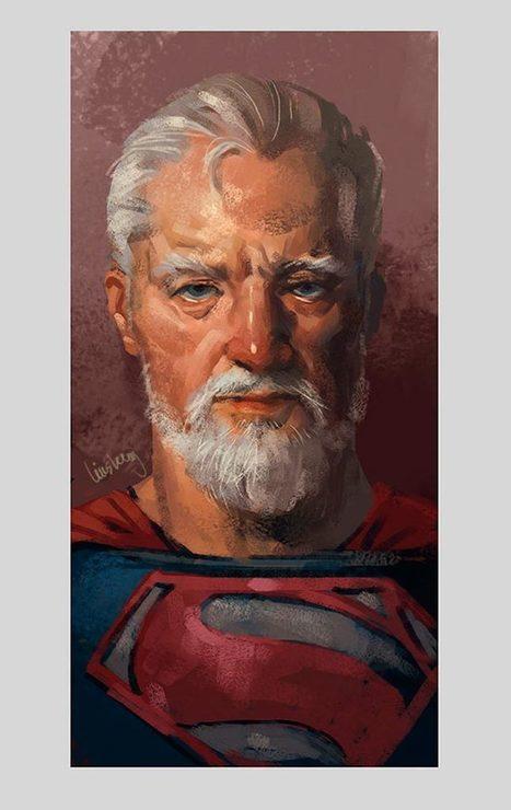 Quand les superhéros prennent de l'âge | Instantanés | Scoop.it