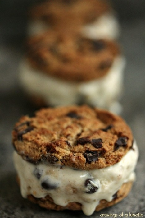 Cookie Dough Ice Cream Sandwiches | The Man With The Golden Tongs Hands Are In The Oven | Scoop.it